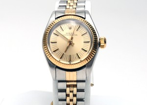 Rolex Oyster Perpetual Two-Tone Bracelet Watch