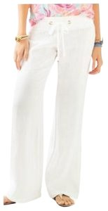 Lilly Pulitzer Wide Leg Pants Resort white