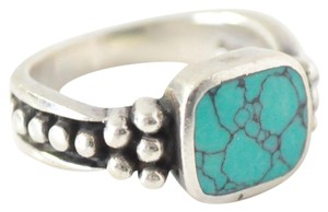 Other Sterling Silver and Turquoise Ring | Ring Size 5.5 - 6 | Silver Ring