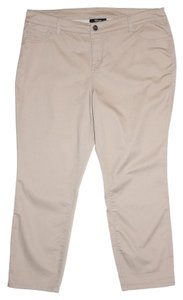 Style & Co Capri/Cropped Pants Beige