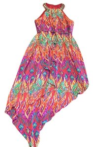 Multi-Colored Maxi Dress by Laundry by Shelli Segal