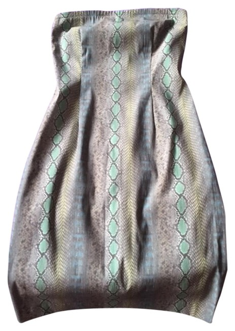 Item - Green No Mid-length Night Out Dress Size 2 (XS)