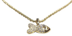 Chopard Chopard Happy Fish Yellow Gold Diamond Necklace