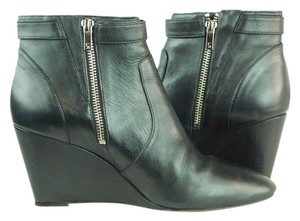 Loeffler Randall Leather Black Boots