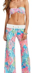 Lilly Pulitzer Wide Leg Pants Turqoise blue