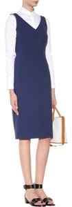 The Row short dress Blue Tory Burch Isabel Marant Victoria Beckham Prada Chanel on Tradesy