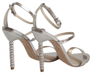 Sophia Webster Rosalind Silver Sandals