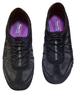 Skechers Relaxed Fit Memory Foam Black Athletic