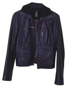 BCBGMAXAZRIA brown Leather Jacket