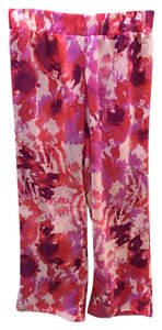 Halogen Beach Relaxed Pants Hot pink