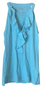 Lilly Pulitzer Top Aqua