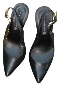 Steven by Steve Madden Slingbacks Black Pumps