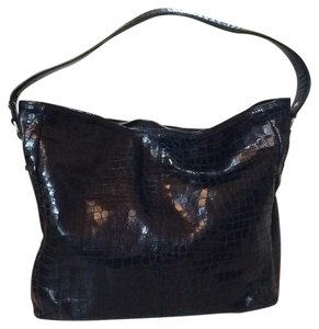 Donald J. Pliner Crocodile Hobo Bag