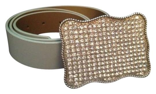 D & K Limited D & K Baby Blue with Swarovski Crystal belt buckle