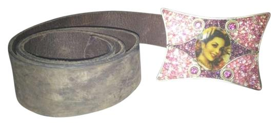 Other Vintage Leather Pin Up Buckle Belt