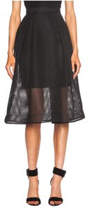 NICHOLAS Lbd Night Out Mesh Skirt black