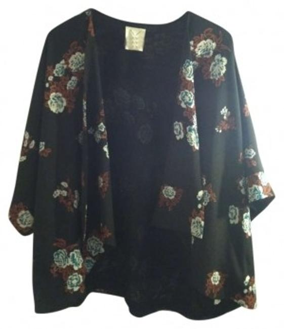 Preload https://item3.tradesy.com/images/pins-and-needles-black-white-orange-teal-floral-blouse-size-8-m-191972-0-0.jpg?width=400&height=650