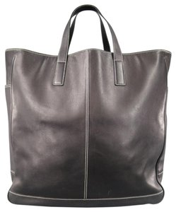 Coach Oversized Over-sized Tote Weekender Carry-on Black Travel Bag
