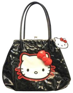 Hello Kitty Satchel in Black
