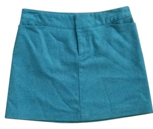 American Eagle Outfitters Wool Fall Skirt Teal