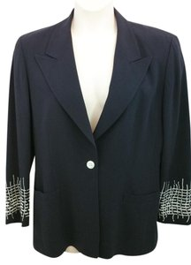 Escada Black Jacket Blazer