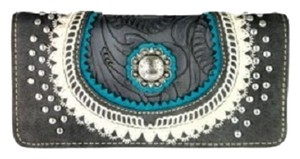 Montana West MW357-W002 Montana West Concho Collection Wallet
