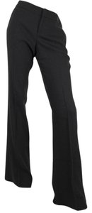 Gucci Wool Wide Front W/interlocking G Dress Pants