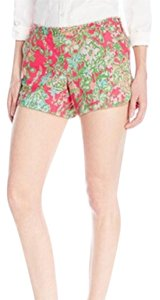 Lilly Pulitzer Mini/Short Shorts Pink, Green, Blue