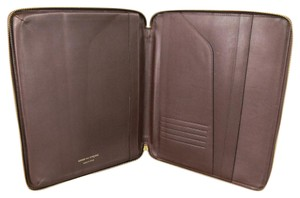 Comme des Garons Leather iPad Tablet Zip Case Portfolio