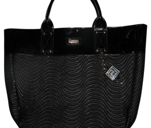 Versace Designer Tote in Black
