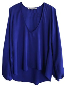 Lovers + Friends Top Blue