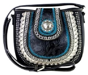 Montana West Tooling Embroidered Cross Body Bag