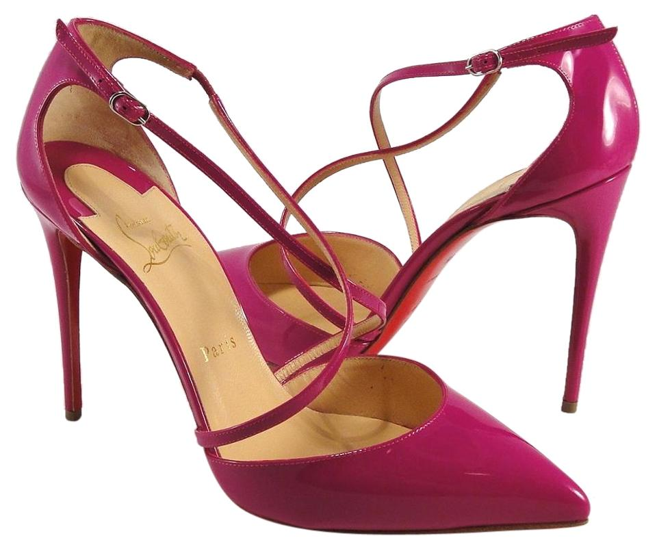 Christian Louboutin Pink Indian #769 Rose Blake 100mm Heels 39.5 #769 Indian Pumps bc9e2a