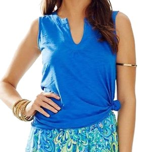 Lilly Pulitzer Top Blue crush
