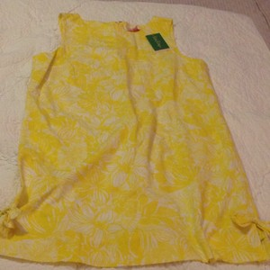Lilly Pulitzer short dress Lemon Sorbet on Tradesy