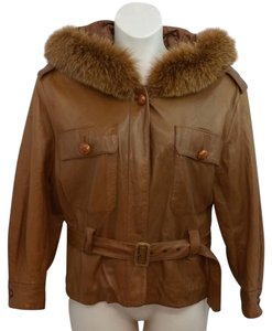Georges Rech Brown Leather Jacket