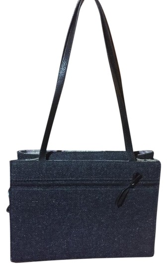 Preload https://img-static.tradesy.com/item/19199440/kate-spade-gray-and-black-leather-wool-tote-0-1-540-540.jpg