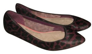 Gap purple and black leopard Flats