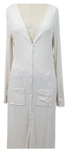 Other Lightweight Maxi Length Button Up Duster Cardigan