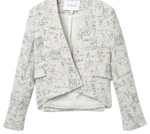 Derek Lam Blue and creme Jacket