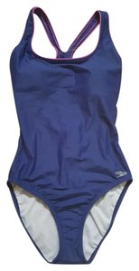 Speedo Speedo Blue Racerback One Piece Swimsuit Size 10
