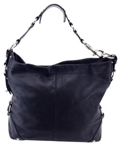 Coach Leather Carly Hobo Shoulder Bag