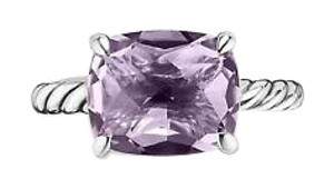 David Yurman David Yurman Color Classics Faceted Amethyst Ring
