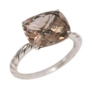 David Yurman SALE David Yurman Color Classics Faceted Morganite Ring / Size 6