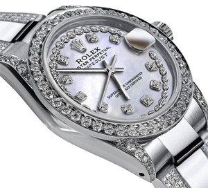 Rolex Women's 26mm s/s Oyster Perpetual Datejust Diamond Dial