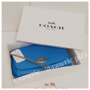 Coach Convertible Shoulder blue Clutch