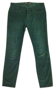 BDG Corduroy Back To School Straight Pants Green