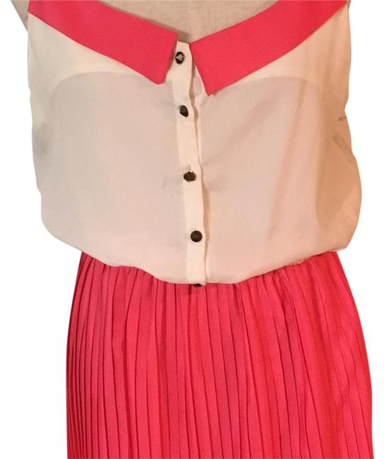 Item - Blush and Cream Pa2208-ak Above Knee Short Casual Dress Size 12 (L)
