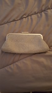 David's Bridal Bridal Clutch With Chain Strap