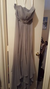David's Bridal Grey F14865 Dress